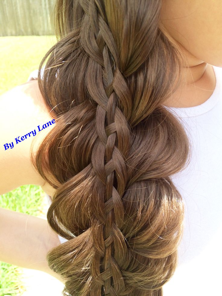 4 Strand on Top of a 4 Strand Braid