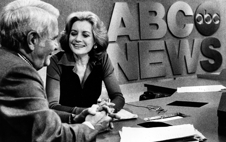 1976 Barbara Walters 1st female nightly network