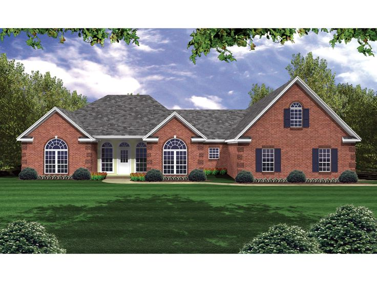 home plans square feet 3 bedroom 2 bathroom french country home with 3 garage bays