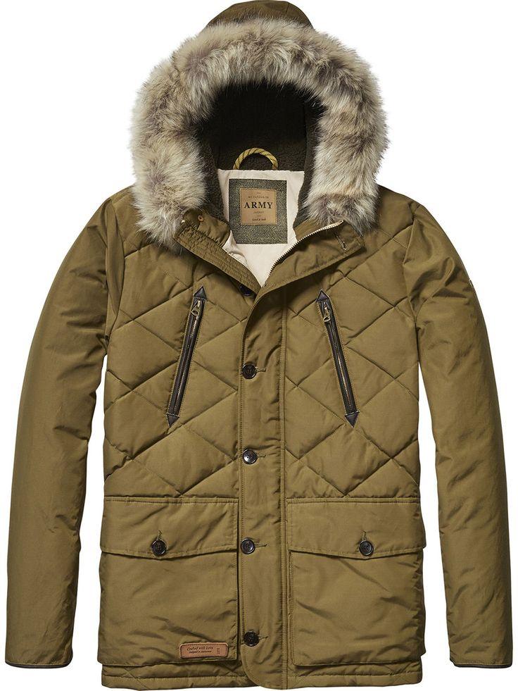 Куртка утеплённая scotch&soda (арт. 132.1504.0910127031.74) | Мужская одежда в интернет-магазине