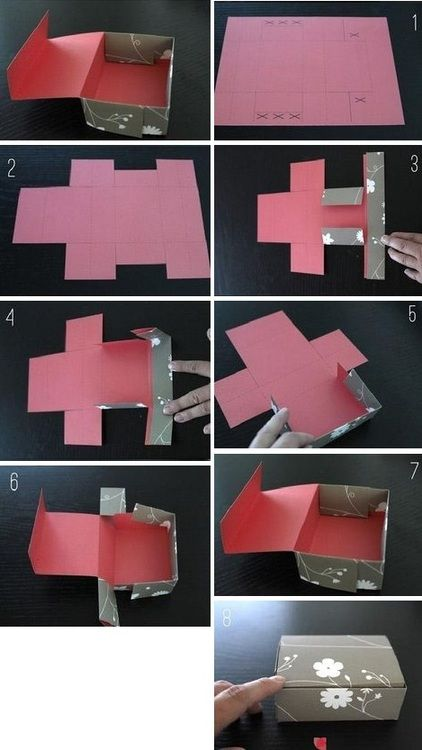 DIY Brownie Box                                                                                                                                                     More