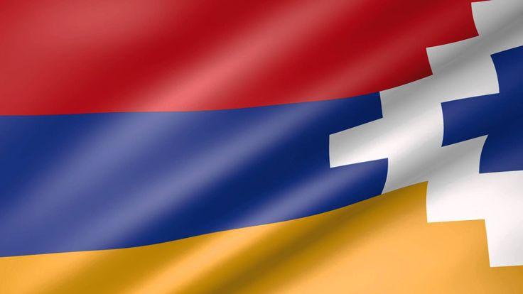 Nagorno-Karabakh Animated Flag