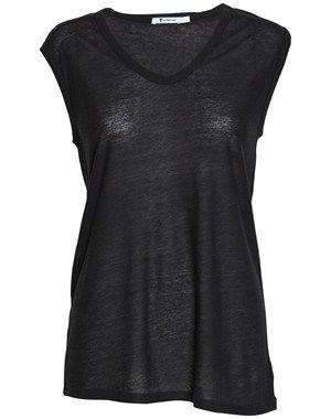 Rayon silke muscle T-shirt fra T by Alexander Wang. Fra www.youheshe.com, str. L, på udsalg til 400 kr.