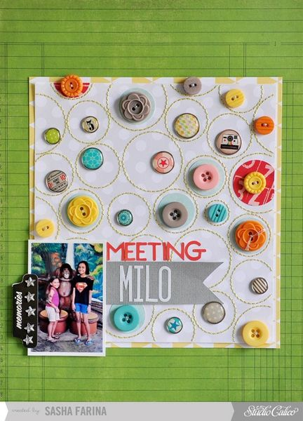 Meeting Milo *Studio Calico November Kit* by Sasha_F @2peasinabucket