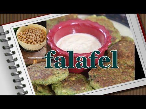 Przepis na FALAFEL - domowe, wegańskie kotleciki z ciecierzycy! PIECZONE
