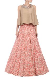 Shop Manish Malhotra Lehenga at www.azafashions.com
