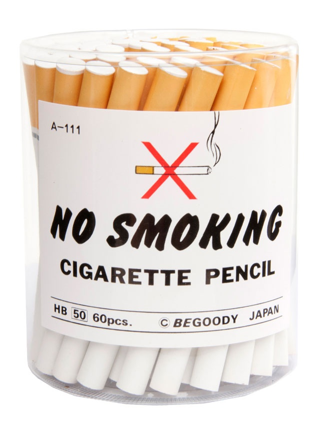 *No Smoking Cigarette Pencils - http://laughingsquid.com/no-smoking-cigarette-pencils/?utm_source=feedburner_medium=feed_campaign=Feed%3A+laughingsquid+%28Laughing+Squid%29