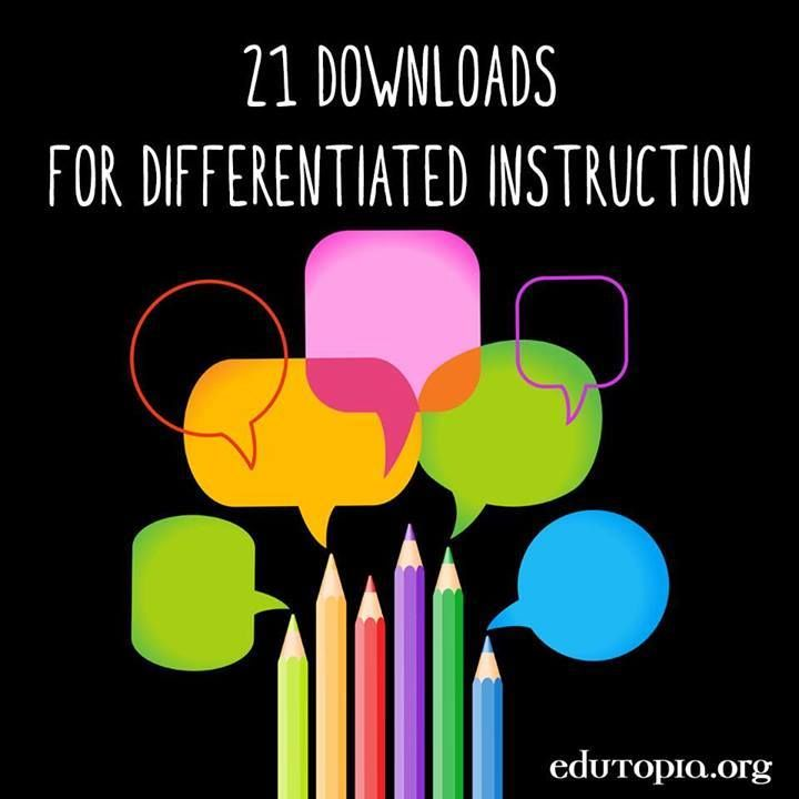 differentiated instruction high school