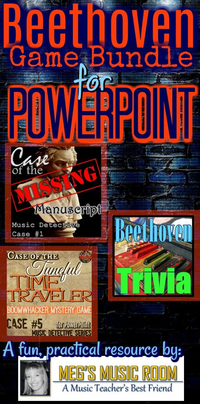 Beethoven Bundle For Powerpoint Beethoven Games For