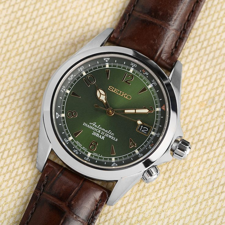 Get the lowest price on the Seiko Alpinist SARB017 Watch and discover the best watches, boots and denim from the Men's Style enthusiast community on Massdrop.
