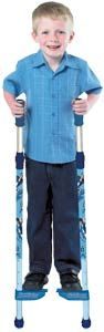 lazy town Sportacus Stilts Look how tall you can be with these fantastic Lazy Town stilts In a boyish blue colour they feature http://www.comparestoreprices.co.uk/outdoor-toys/lazy-town-sportacus-stilts.asp