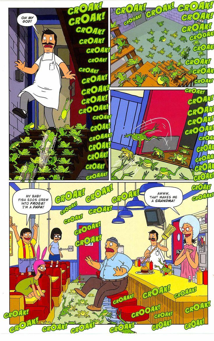 Free Comic Book Day 2015 – Bob's Burgers ……… | Viewcomic reading comics online for free