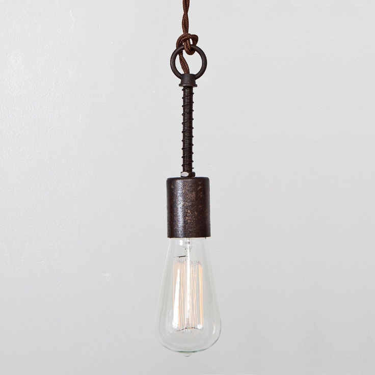 Rustic Industrial Pendant Light Rustic Industrial