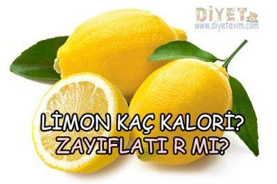 limon kaç kalori