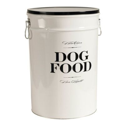 Dog Food Bin