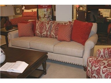 Shop For Goods Furniture Outlet   Hickory Better Home And Gardens Sofa By  Craftmaster, B824850BD