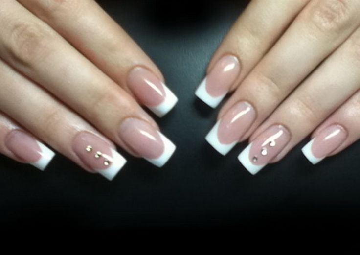 14 best french nails designs images on pinterest acrylic nails french nails designs prinsesfo Choice Image