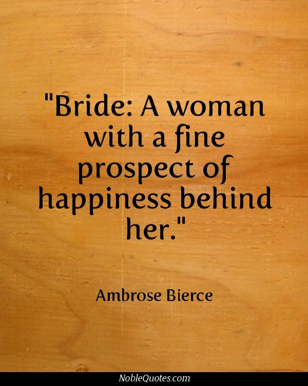 Wedding Happiness Quotes