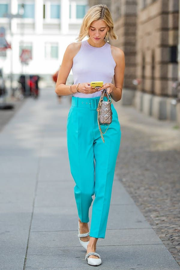 This Is Officially the Hottest Trend of the Summer, According to Pinterest  | Colorful summer outfits, Neon outfits, Summer dresses with sleeves
