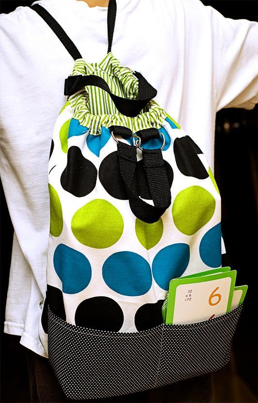 Sew a Reversible Backpack - Free Tutorial  by Kendra McCracken for Fiskars  #sewing