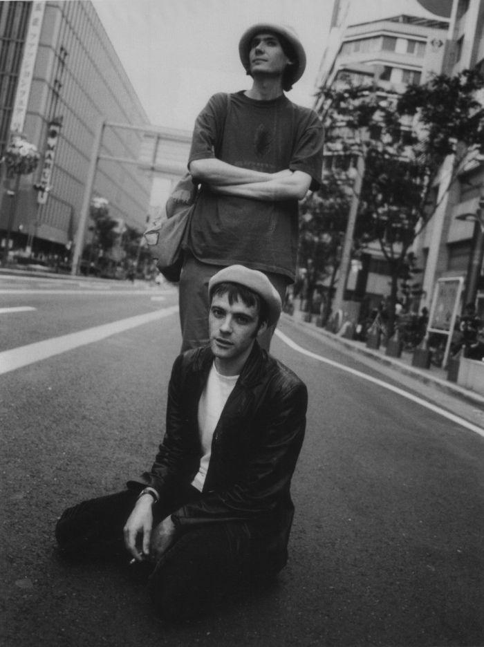 Nicky Wire and Richey Edwards