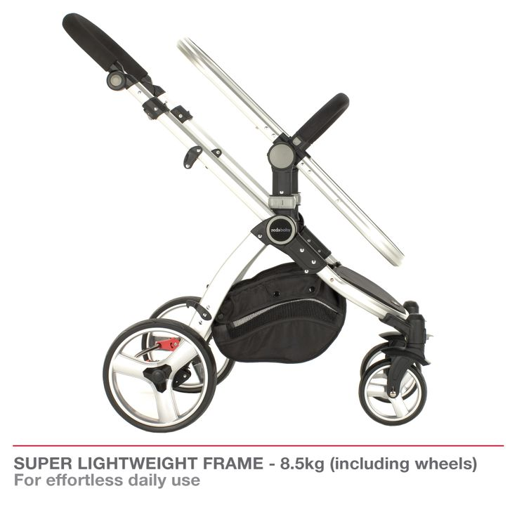 Redsbaby Bounce - The Ultimate All-In-One Stroller/ Pram www.redsbaby.com.au  Designed with a super lightweight frame 8.5kg (including wheels) for effortless daily use