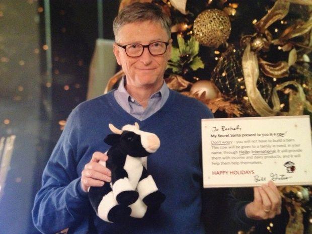 Bill Gates faz de amigo secreto no Reddit