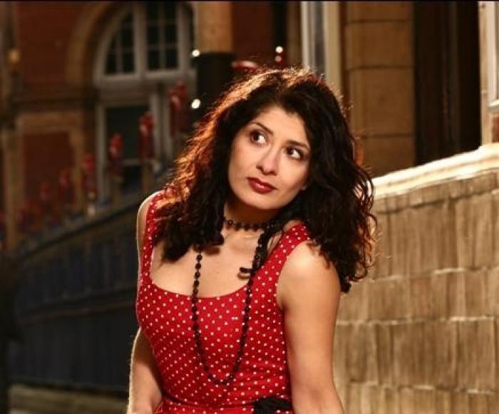 Shappi Khorsandi very funny lady