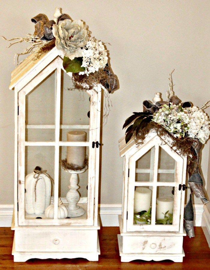 Create your own lantern flower arrangements for fall for Design your own flower arrangement