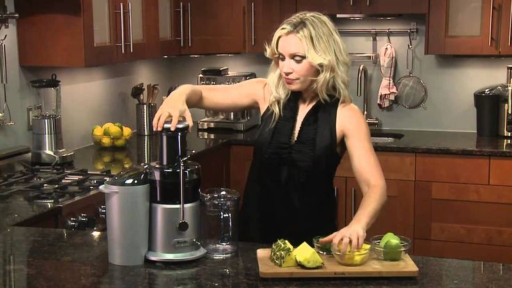 Breville -- Adèle Schober Presents Juice Recipe: Tropical Storm (Juicer ...