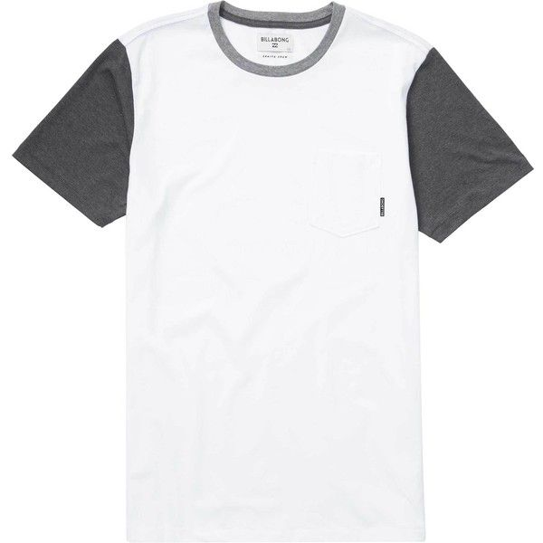 Zenith Short Sleeve Crew ($25) ❤ liked on Polyvore featuring men's fashion, men's clothing, men's shirts, men's t-shirts, men, tops, men's color block t shirt, j crew mens shirts, mens t shirts and mens shirts