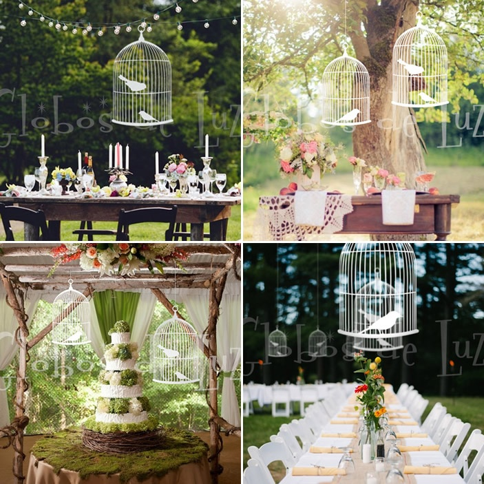 wooden bird cage for weddings wedding idea decoration bodas decoracion globos de luz jaulas