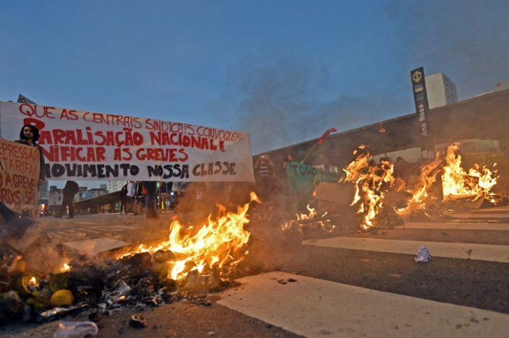 MP cobra 486 milhões de sindicatos por greve de ônibus e metrô em São Paulo | #AçãoCivil, #Greve, #Metro, #MinistérioPúblico, #TRT