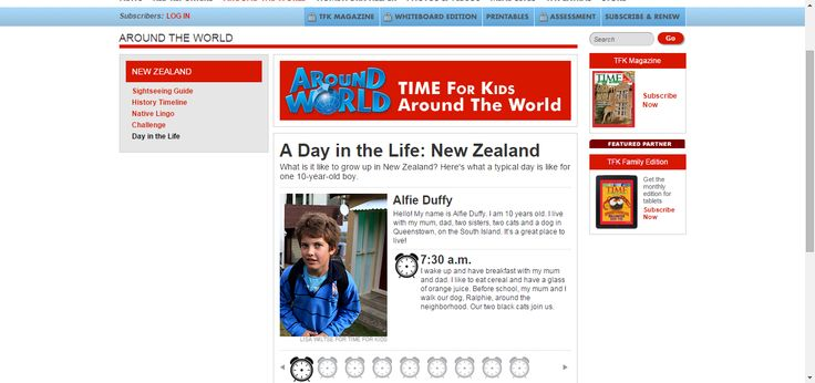 A Day in the Life: New Zealand | TIME For Kids