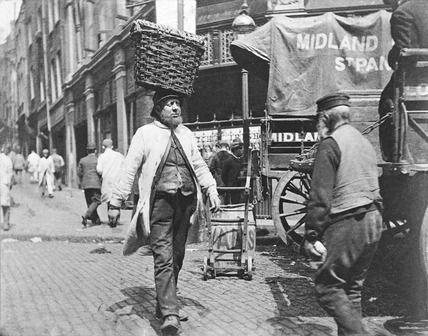 A fish porter at Billingsgate: 1893, Paul Martin