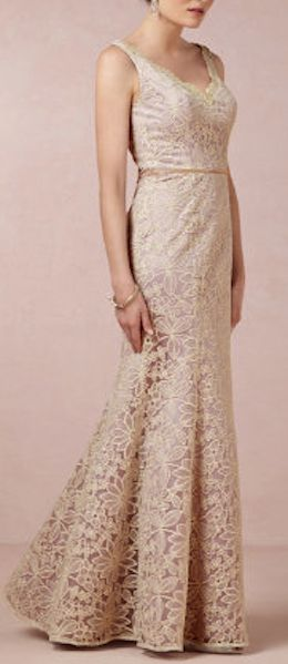 stunning pale #gold dress http://rstyle.me/n/euh79r9te