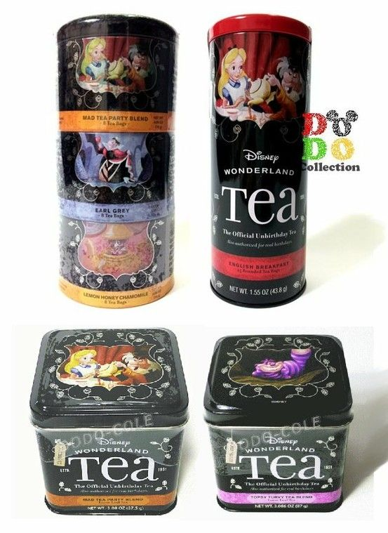 Alice in Wonderland tea. The Mad Tea Party blend is my fav... I could drink it all day!