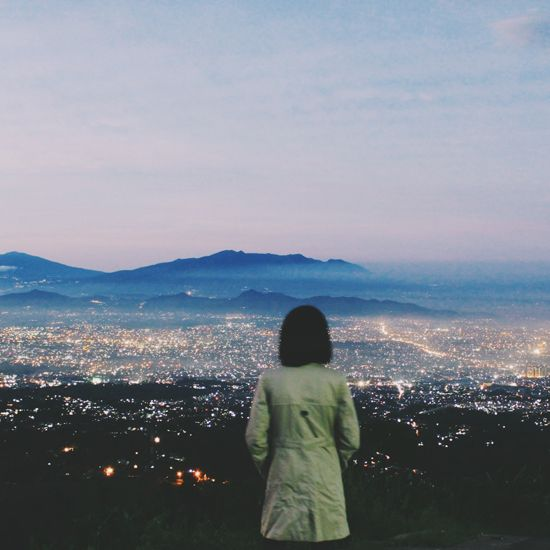 Caringin Tilu is one of the best places to watch the sunrise in Bandung.