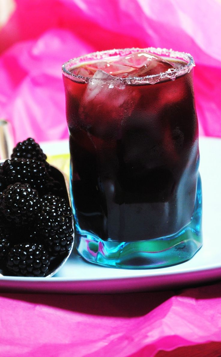 Blackberry Margarita, but has links to lots of other margarita recipes!