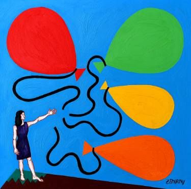 LETTING GO PAINTINGS! http://www.saatchiart.com/art/Painting-LETTING-GO/4915/3784194/view?wmc=1143&utm_medium=social_media&utm_source=twitter&utm_campaign=1143&utm_content=art_upload_share #portfolio #artist #murphy #relationships #fineart #home #decor #wallart #balloons #love #prints #arts