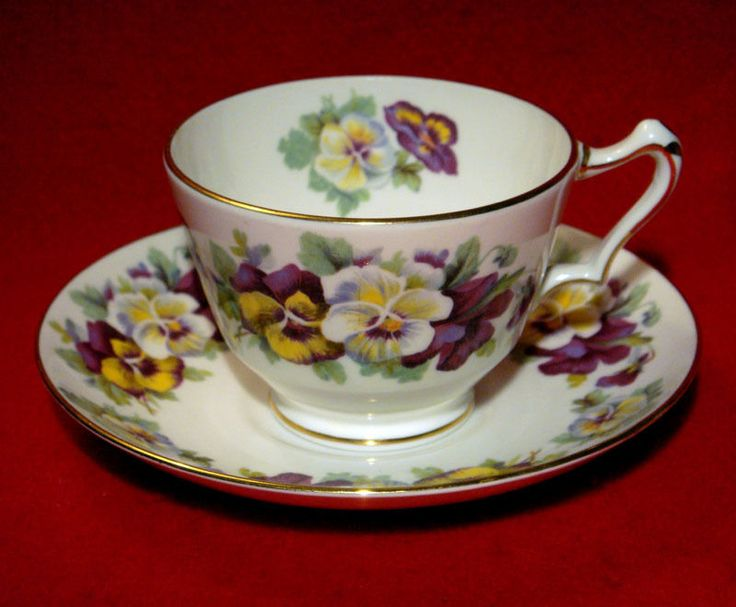 7 Best Images About Pansies On Pinterest Vintage China