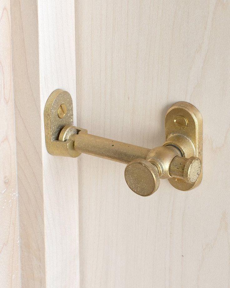 Matureware Latch Lock - Corner | Barn door latch, Bathroom ...