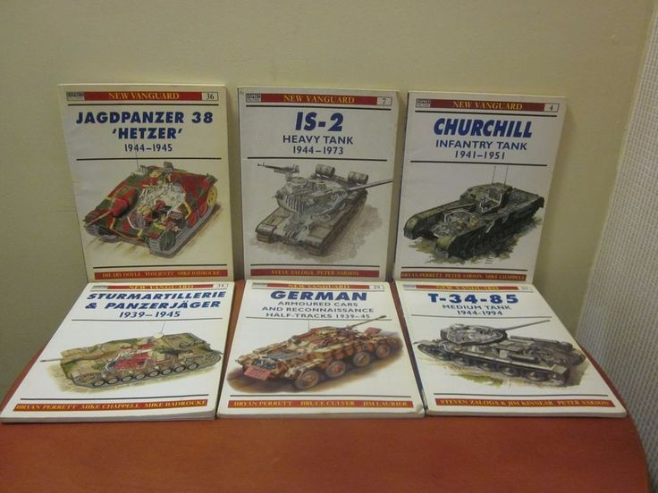Osprey Military New Vanguard Lot of 6 numbers 34, 29, 36, 4,7,20 Good Price  CR1