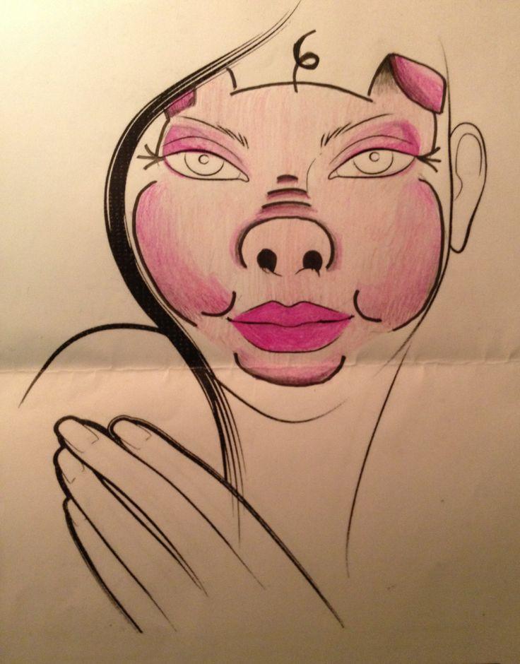 best 25 pig face paint ideas on boys painting