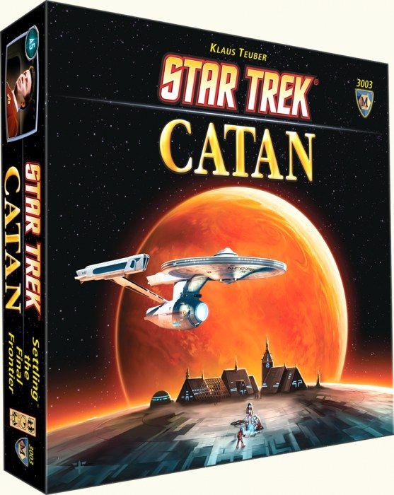 Ediciones especiales de #Catan. #StarTrek y mas... visita nuestro blog http://boardgamescave.wordpress.com