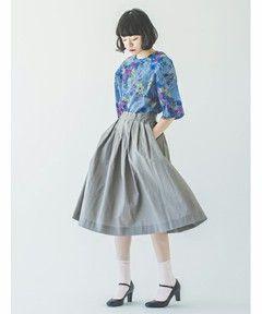 BASIC TUCK SK #SINDEE #Kanoco #fashion