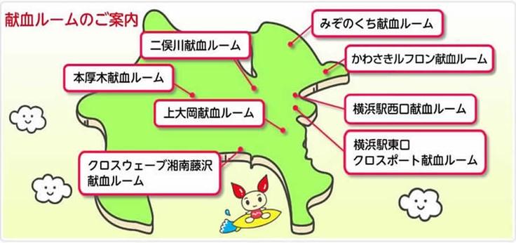 献血ルーム 神奈川