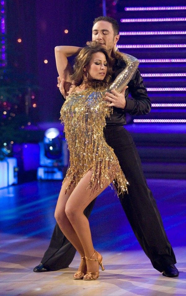 Rachel Stevens and Vincent Simone