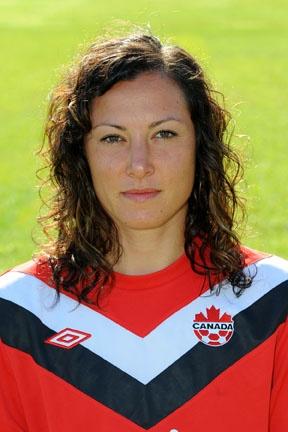 Melissa Tancredi , Canadian Women's Soccer team
