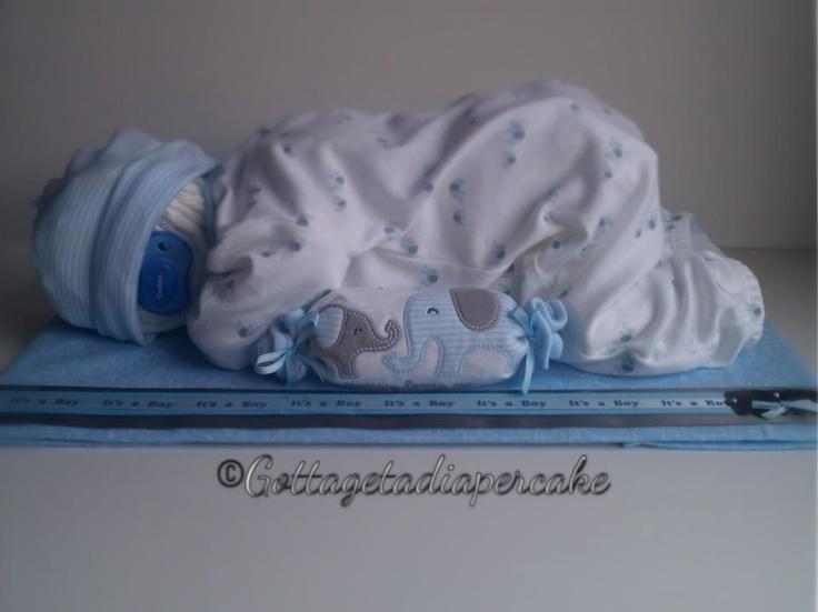 Sleeping Baby Diaper Cake Directions Cake Recipe